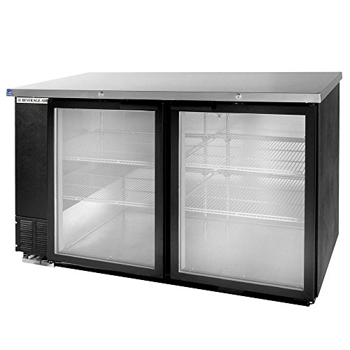 Beverage Air BB58GF-1-B Refrigerated Food Rated Back Bar Storage Cabinet 58