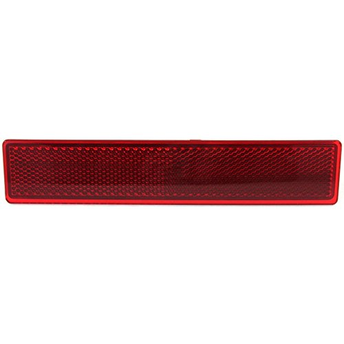 Evan-Fischer EVA239082813134 Bumper Reflector for Honda Pilot 06-08 Rear CAPA Certified Left Side