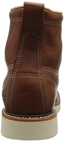 Thorogood Tobacco Men's Toe Boot Boat inches Gladiator 6 Plain Shoe Work rrz6xUqdw