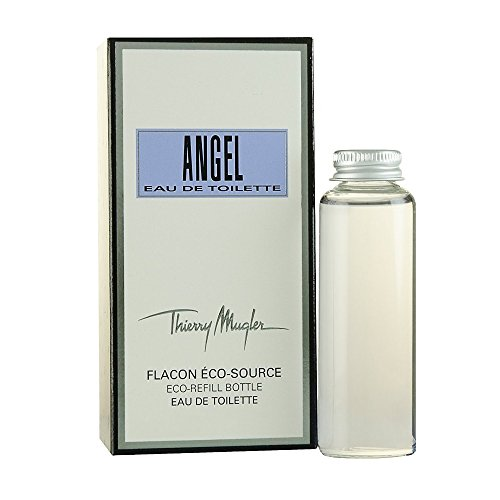 Thierry Mugler Angel Eau de Toilette Spray for Men, Eco Refill, 2.7 Ounce