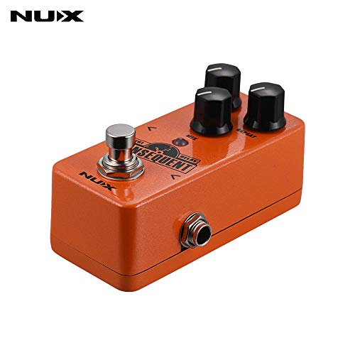 Kalaok NDD-2 KONSEQUENT Digital Delay Guitar Effect Pedal 800ms Delay Range Tap Tempo Function Full Metal Shell True Bypass