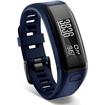 Garmin 010-01955-02 Garmin vivosmart HR, WW, Blue, Regular