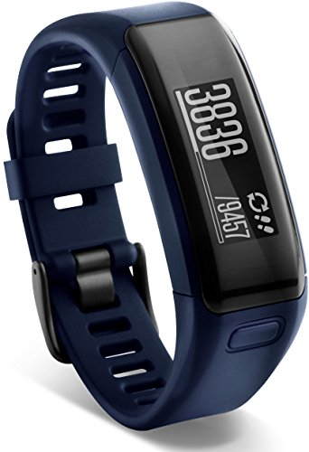 (Garmin vívosmart HR Activity Tracker Regular Fit - Midnight Blue (Deep Blue))