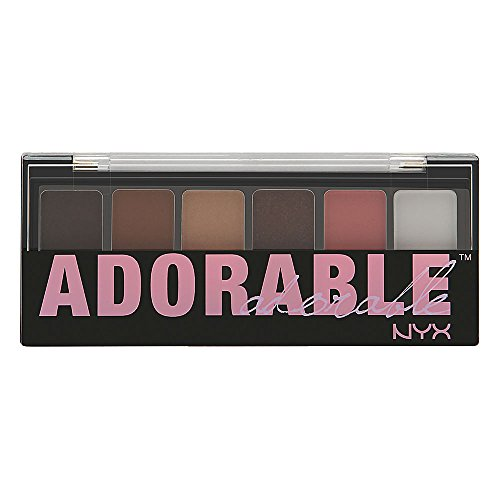 NYX Professional Makeup The Adorable Shadow Palette, 0.035 Ounce