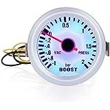 KKmoon Turbo Boost Vacuum Press Gauge Meter for Auto Car 2 52 mm de 1~