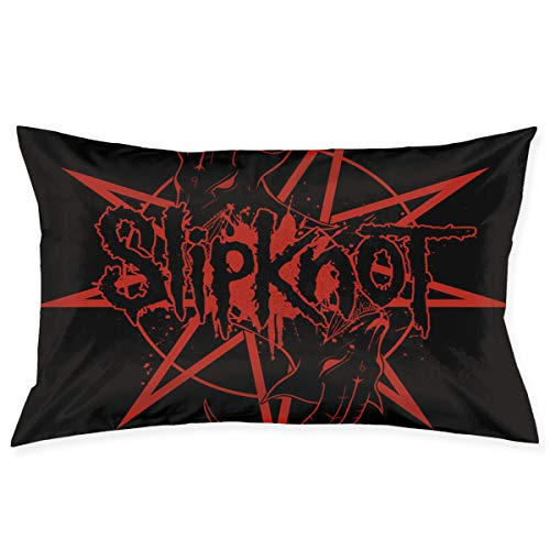 Kina D Wilson Slipknot Fashion Novelty Zipper Pillowcase Home Decoration Pillow Protector 20 30 Inch (Double Print) ()