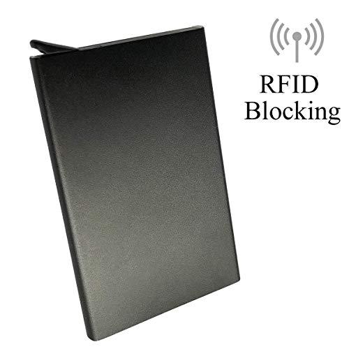 RFID Credit Card Holder Credit Card Case Wallet Protector RFID Blocking Metal.