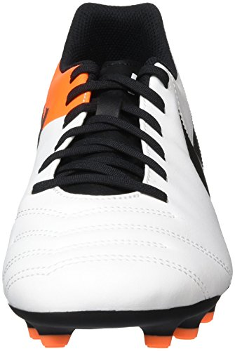 Scarpe Nike white Uomo Orange Tiempo black Rio total Running Iii Fg Bianco IwIprqA