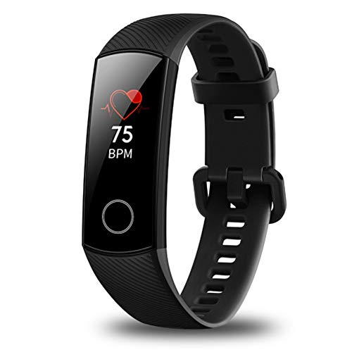Honor Huawei Band 4 6-Axis Inertial Heart Rate Monitor Infrared Light Wear Detection Sensor Full Touch AMOLED Color…