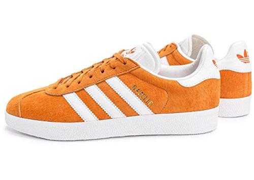Adidas Originals Gazelle De Los Hombres (11,5 M Nosotros, Los Hombres, Naranja)