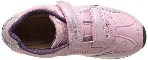 Geox Jr New Jocker Girl - Zapatillas de deporte para niña Pink