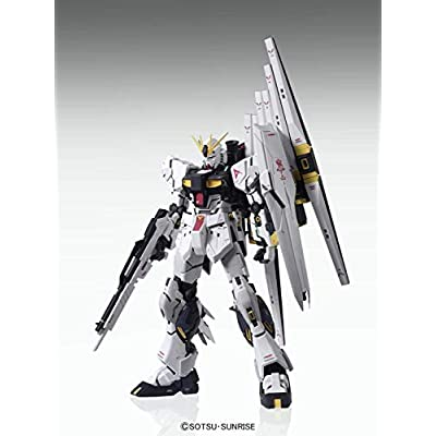 Bandai 5055454 Rx-93 Nu Gundam (Ver. Ka) MG Model Kit, from Char'S Counterattack: Toys & Games