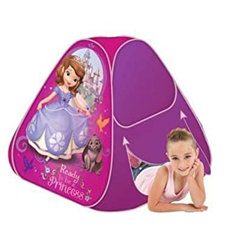 Disney Sofia the First C& u0027N Play Pop-Up Tent by Playhut  sc 1 st  Amazon.com & Amazon.com: Disney Sofia the First Camp u0027N Play Pop-Up Tent by ...