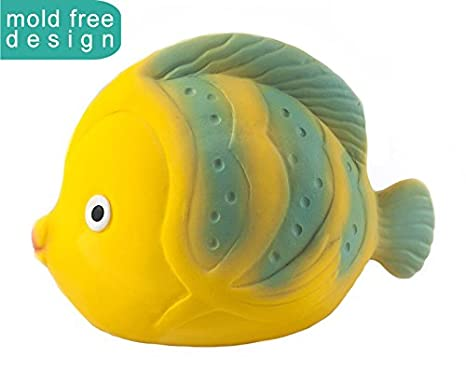 CaaOcho Ocean Baby Bath Toy, La The Butterfly Fish 7102
