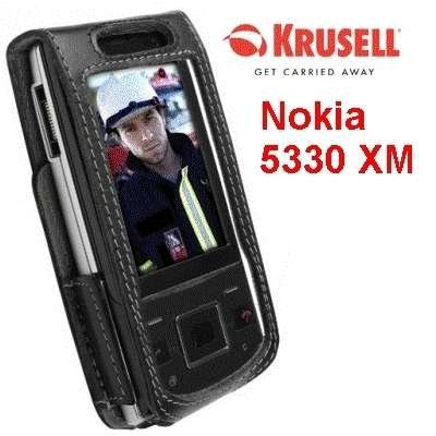 Krusell Multidapt Leather Case for Nokia 5330 -