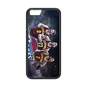 Cavs Big 3 #2 Iphone 6 Hard Case Custom Lebron James Kevin Love Kyrie Irving Cavaliers Cleveland (White)
