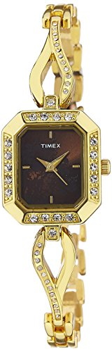 Timex Empera Analog Brown Dial Women's Watch - TW000X601