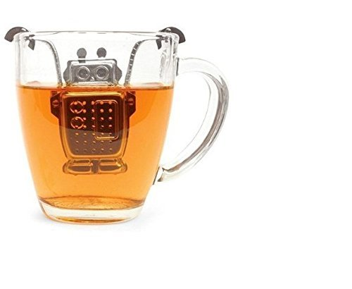 Drowning Robot Novelty 1 Cup Tea Infuser + Stand S/S Simpli-Special 4009636182384