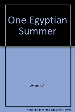 book cover of One Egyptian summer