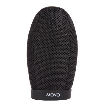 Movo WST240 Professional Premium Quality Ballistic Nylon Windscreen with Acoustic Foam Technology for Shotgun Microphones up to 22cm Long by Movo