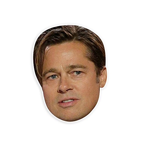 Unwelcome Greetings Disgusted Brad Pitt Mask - Perfect for Halloween, Masquerade, Parties, Events, Festivals, Concerts - Jumbo Size Waterproof (Brad Pitt Costume)