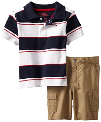 Amazon.com: Tommy Hilfiger Baby Boys' Carlos Short Sleeve