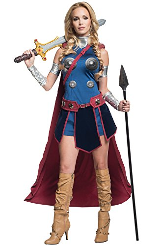 Secret Wishes Women's Marvel Universe Valkryie Costume, Multi, X-Small]()