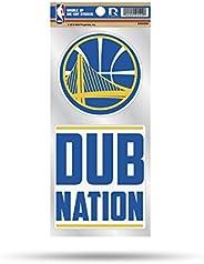 NBA Double Up Die Cut 2-Piece Sticker Sheet