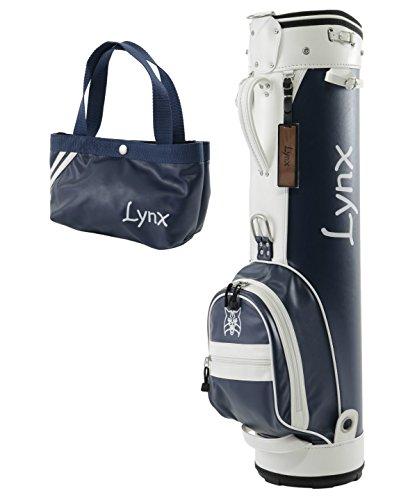 不機嫌そうな方法論ヒール[リンクス] クラシックバッグ CLASSIC BAG キャディバッグ ネイビー LXCB-1000