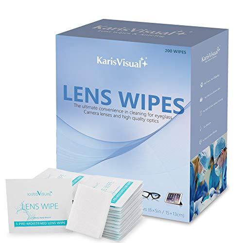 KARISVISUAL Lens Wipes Suitable