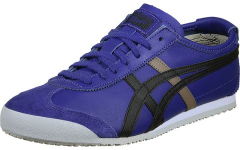 Blue Asics Adulte Baskets Mexico Asics black Mixte Bleu Basses 66 Sr8vxqXwS