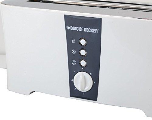 Black & Decker ET124 1350W 4-Slice Toaster (Non-USA Compliant), White by BLACK+DECKER (Image #5)'
