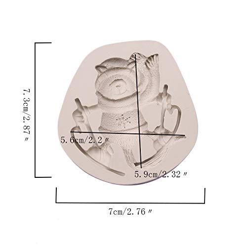 Dosige DIY Weihnachtselche Seifenform Gie/ßform Fondant-Kuchenform Silikonform f/ür Seifen und Kerzen Bodymelt Gips-Form Seifengie/ßform Seifenstempel Durchmesser 7,8CM