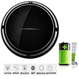 Yitrend Robotic Vacuum, Smart 360 Degree Automatic Sweeper, Pet...