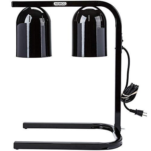 - Empura B62 Two Bulb Freestanding Heat Lamp with Black Finish - 120V