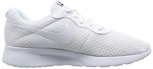 NIKE Shoe US 12 White White Men's Tanjun Men Running Black ROARrq1