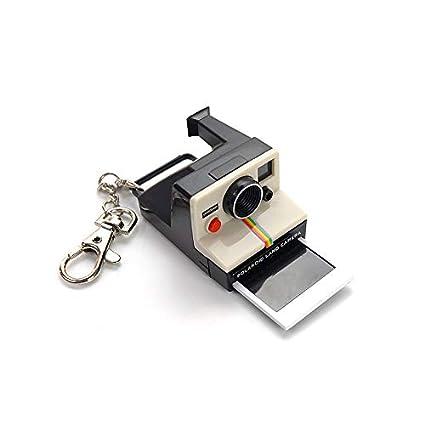 KIKIXI Regalo de cumpleaños Mini Polaroid Llavero de la ...
