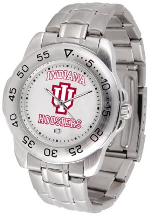 Indiana Hoosiers Men's Sport ''Game Day Steel'' Watch