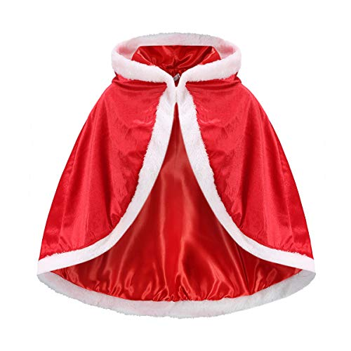 iTvTi Princess Cloak with Hood Girls Cape Kid