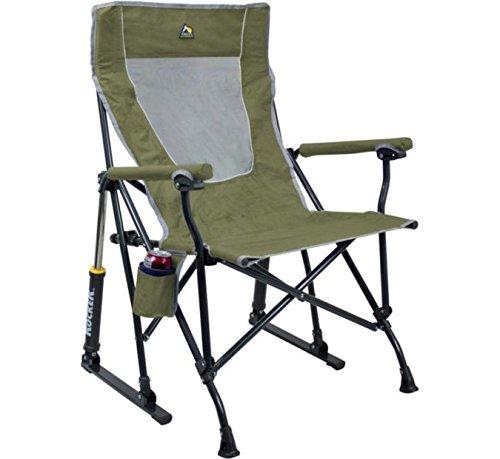 GCI Outdoor RoadTrip Rocker Chair|Loden Green