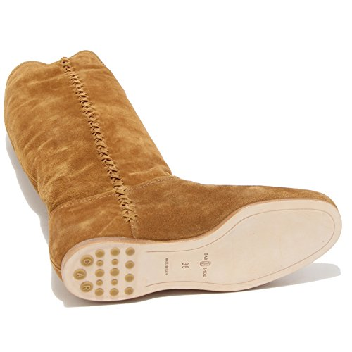 Shoes Stivale Women Scarpe Donna 0837l Car Caramel Shoe Boots Aq44wY