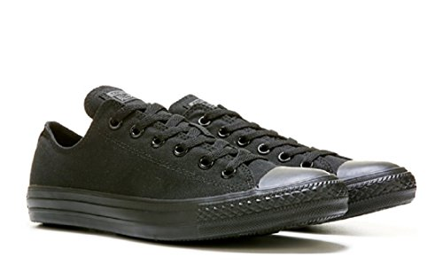 Converse M5039: Chuck Taylor All Star Low Top Black Mono Unisex Sneaker