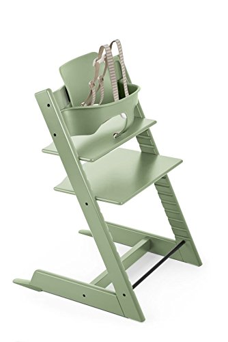 Lowest Price! Stokke Tripp Trapp Baby Set, Moss Green