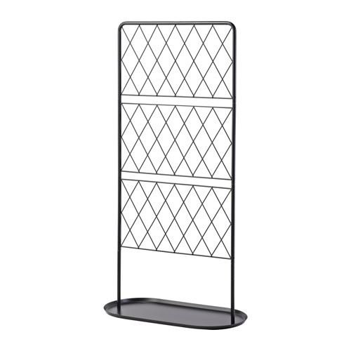 Ikea Rankgitter barsö trellis with base plate black n karlsson m axelsson