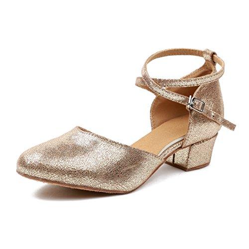 Minitoo - De salón mujer Gold-5cm Heel