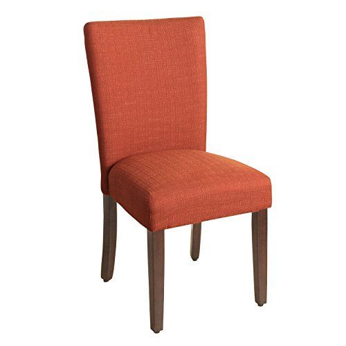 HomePop Parsons Classic Upholstered Accent Dining Chair, Single Pack, ()