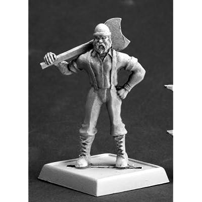 REAPER Bill Foster, Lumberjack Chronoscope Miniature: Toys & Games