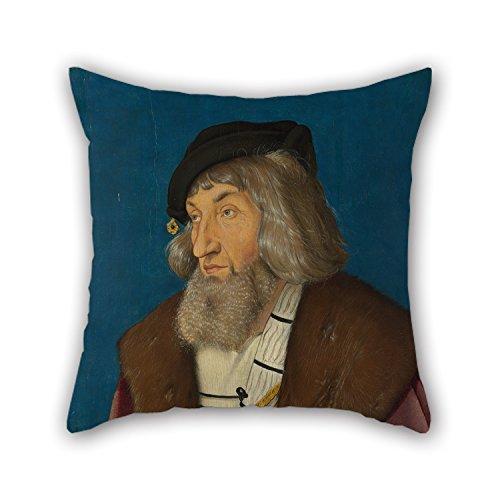 [Alphadecor Oil Painting Hans Baldung Grien - Portrait Of A Man Throw Pillow Covers 16 X 16 Inches / 40 By 40 Cm For Teens,valentine,dance Room,wedding,drawing Room With Double] (Shrek Dance Costume)