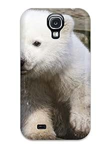 Hot Design Premium TdmXHuJ2413OWGek Tpu Case Cover Galaxy S4 Protection Case(polarbears )