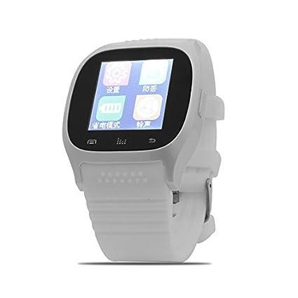 eDealMax Llamadas Deporte al aire Libre M26 de sincronización del teléfono inteligente Anti-perdida Blanco